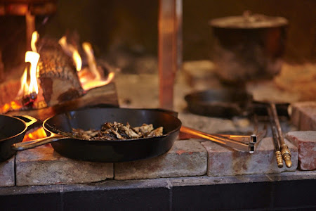 Open hearth cooking at TBD Restaurant in San Francisco