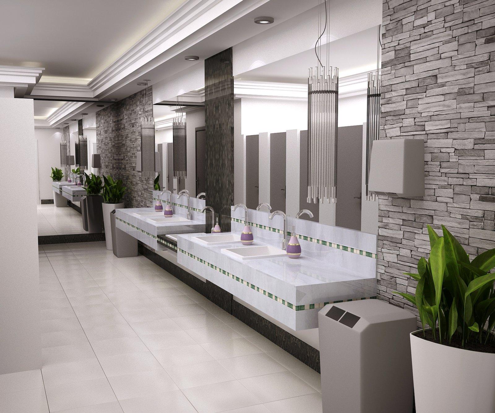 Vänya Lopes Designer de Interiores.: Banheiro publico. #4C5F1E 1600 1334