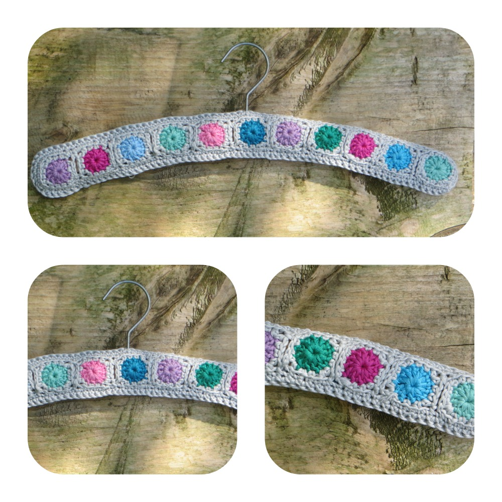 A Very Fiddly Diddly Crochet Coathanger Cover Lazy Daisy Jones