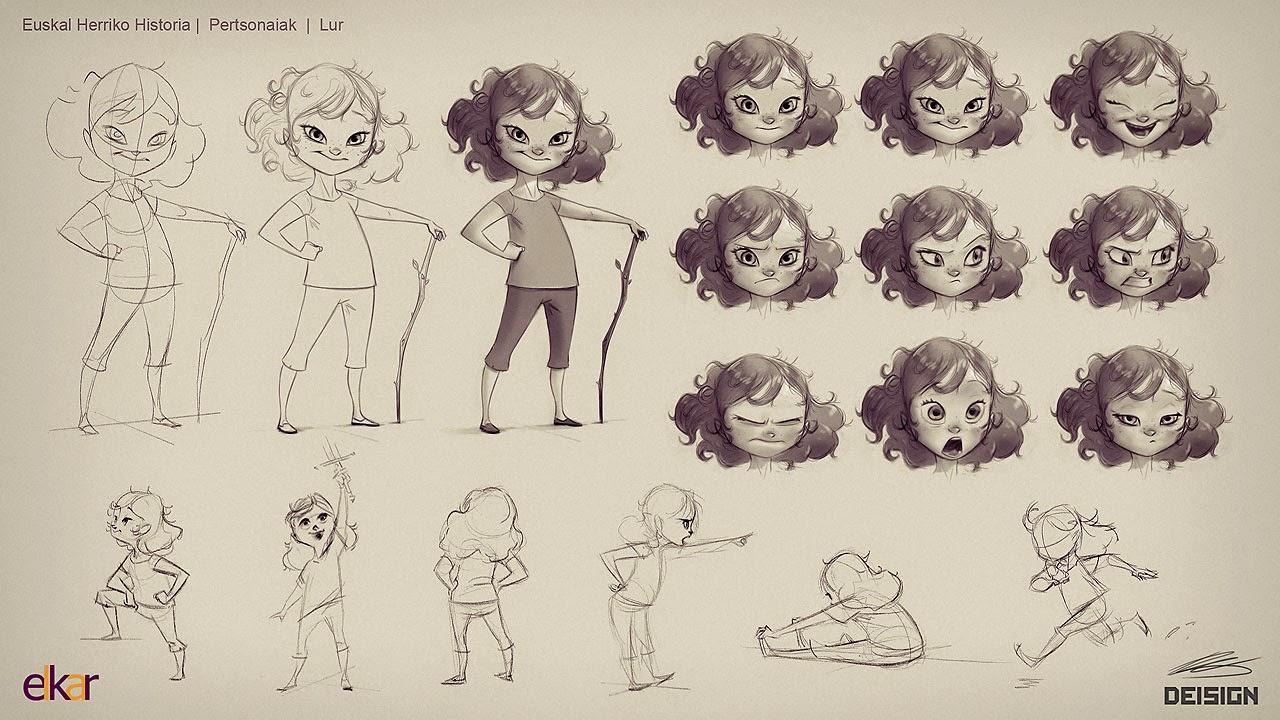 Character Design Sheet Tutorial : Deisign character
