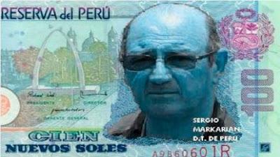 SERGIO MARKARIAN 100 NUEVOS SOLES