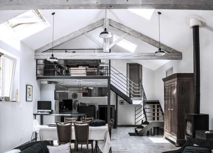 Reinstatement] fábrica de papel convertida en loft de diseño ...
