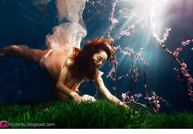 2 Xi Wang natural underwater Peach Grove-Very cute asian girl - girlcute4u.blogspot.com