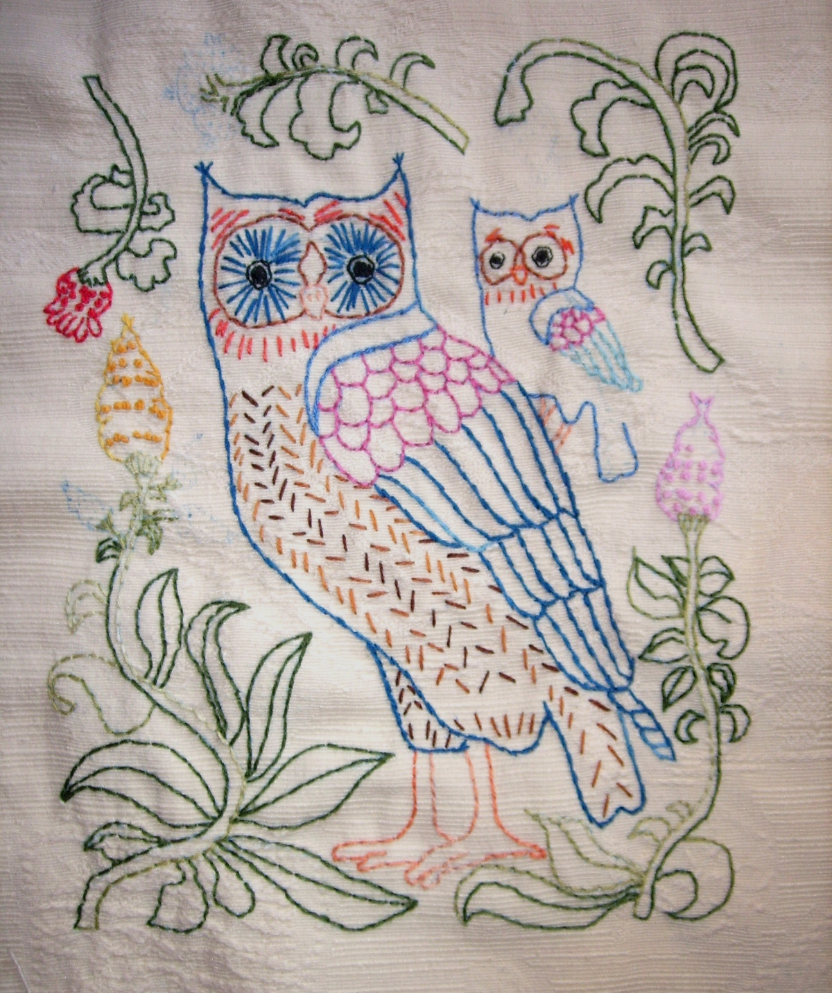 Hand embroidery mekhela sador makaroka