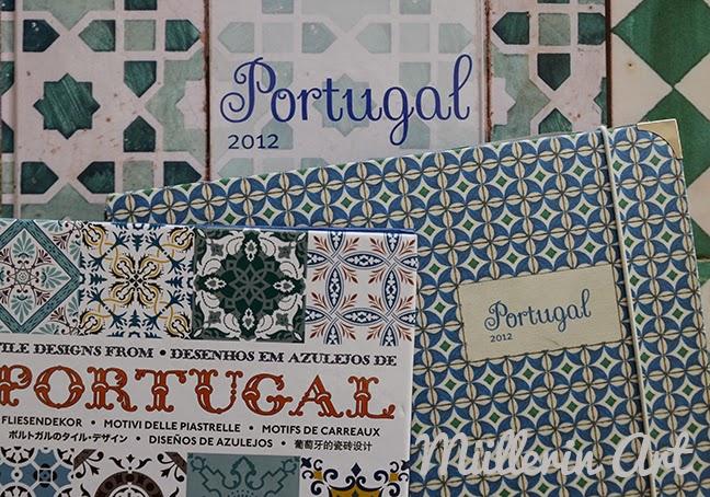 Ferienmuster: Portugiesische Fliesen (Muster Mittwoch 92)