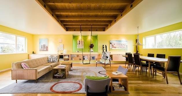 desain interior rumah kayu modern desain rumah modern