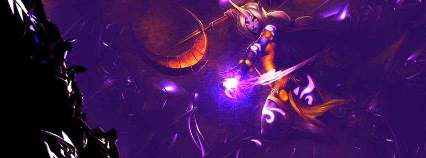 Soraka League of Legends Facebook Cover PHotos