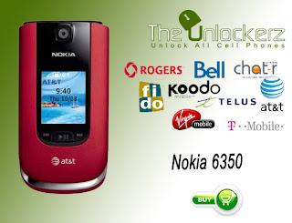 Nokia 6350 Unlock Code