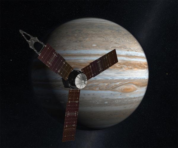 Mision Juno hacia Jupiter