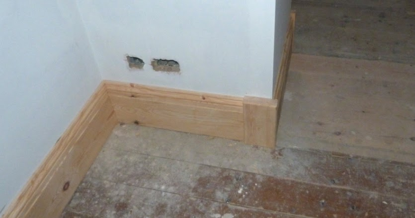 Sawdust In My Socks Tall Skirting And Wide Architrave