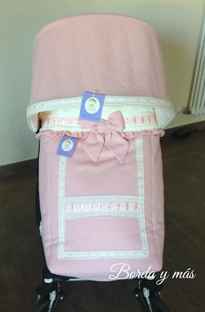 saco silla bugaboo rosa