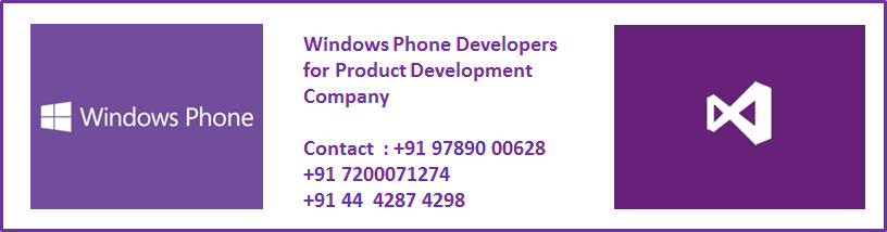 Windows Phone Developers