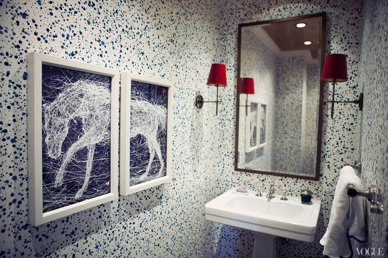 Powder Room Vogue By Lilly