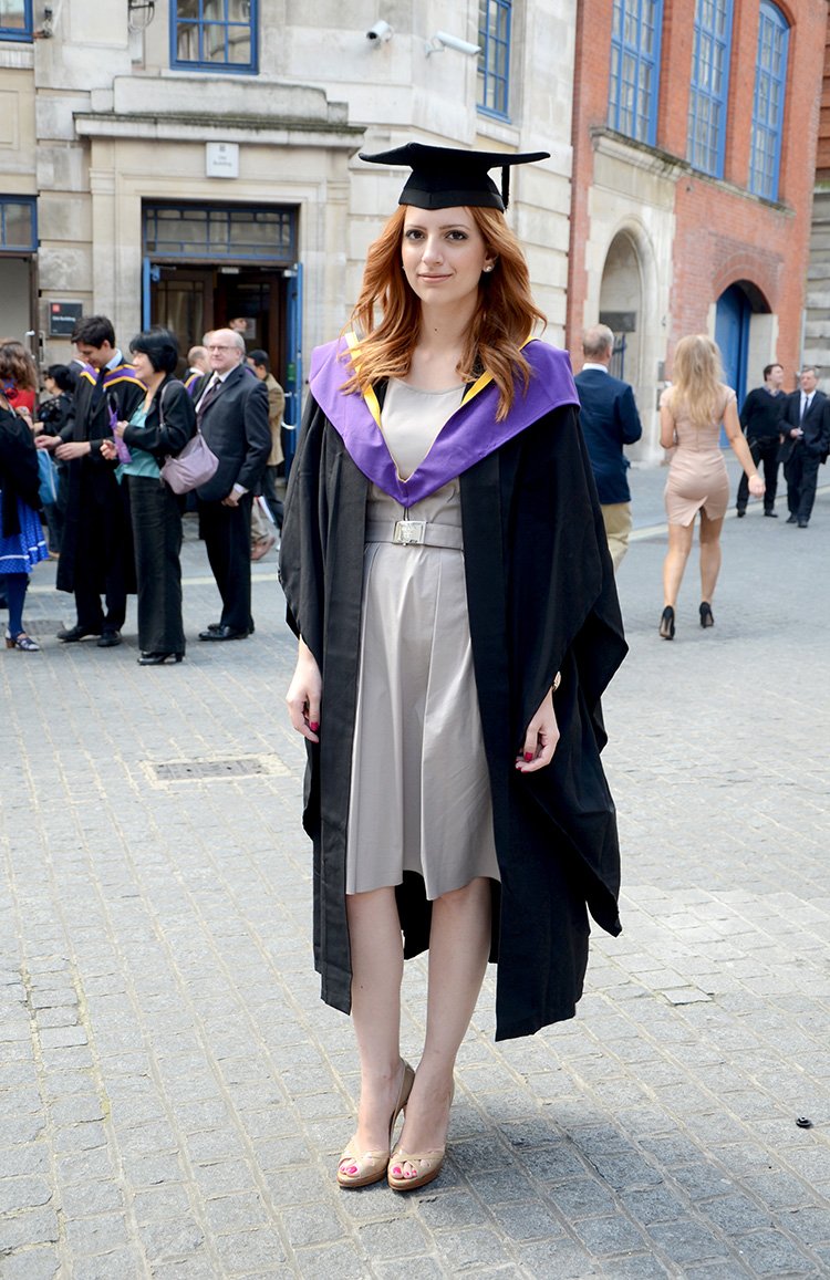 on my graduation day On a painfully hot day in may 2015, i donned a long black gown and stood for  hours in a field of uncomfortably wet grass while sun burned my.
