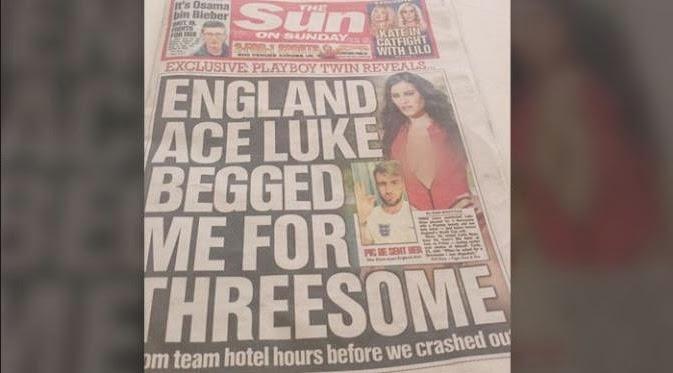 Berita Pemain Inggris Ajak Model Panas Threesome Ternyata Isu