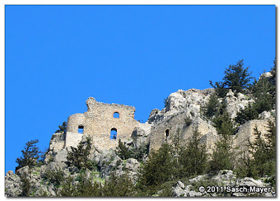 Buffavento Castle in Cyprus, taken by Sasch Mayer