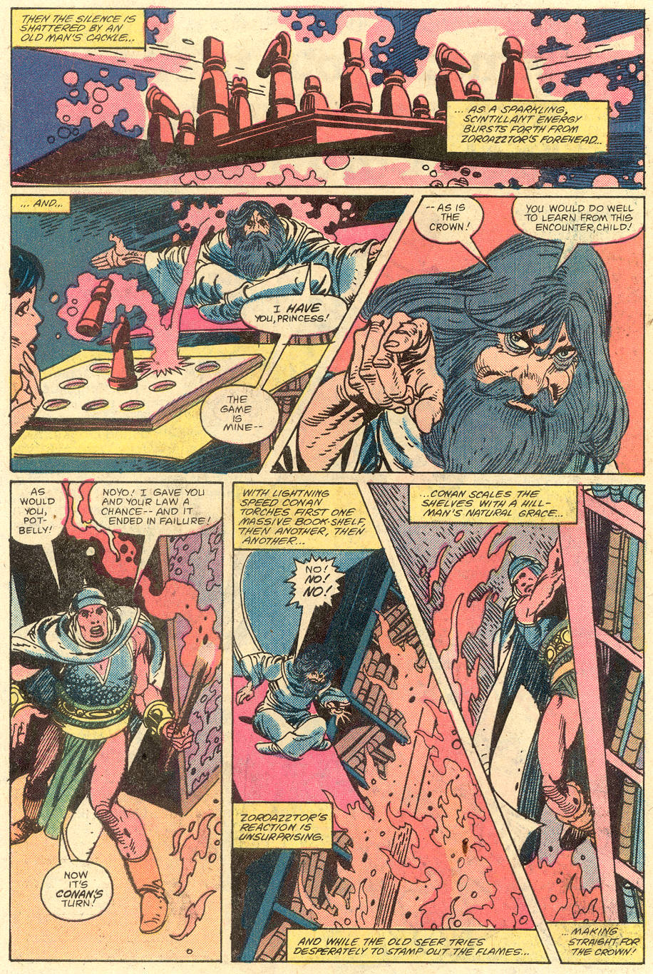 Conan the Barbarian (1970) Issue #129 #141 - English 20