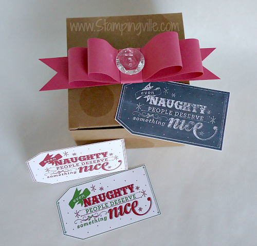 Stampin' Up! Free For You From Us Digital Tags