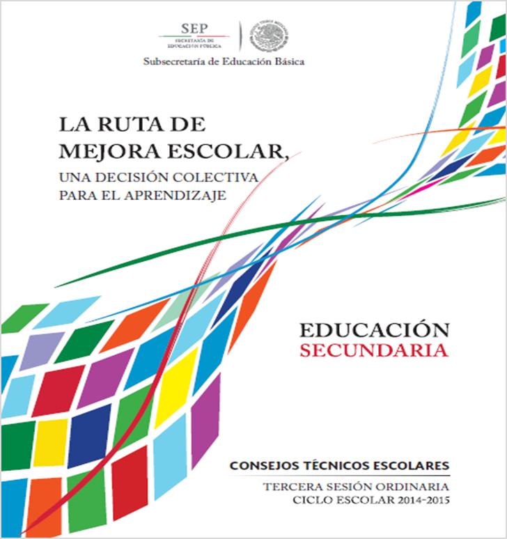 Descargar Guía de la Tercera Sesión del Consejo Técnico Escolar para Secundaria