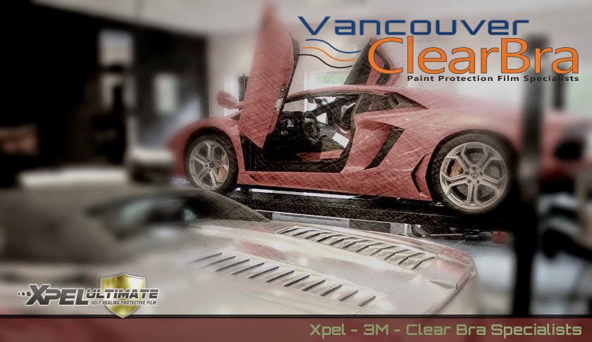 Vancouver ClearBra Paint Protection Film Xpel 3M
