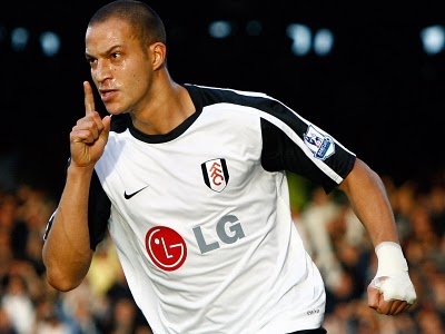 ... and QPR are said to be interested in Fulham striker Bobby Zamora