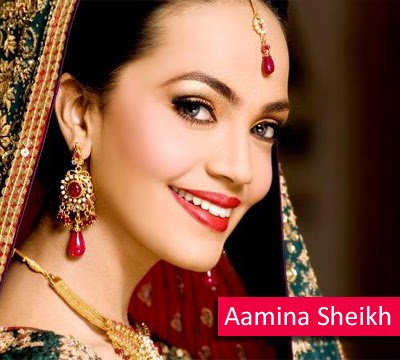 Aamina Sheikh Pakistani Fashion Model