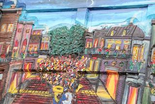 The Courtyard Gallery Door Detail
