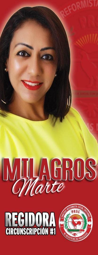 MILAGROS MARTE, REGIDORA