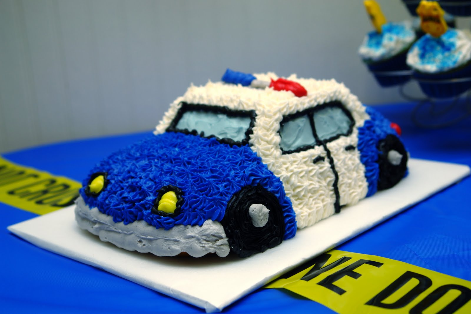 Police Car Cake Pan Was The Police Car Cake