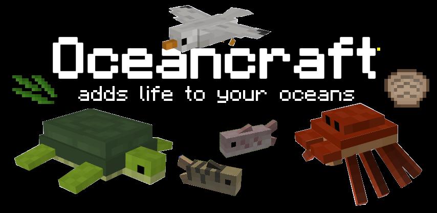 OceanCraft Mod para Minecraft 1.8