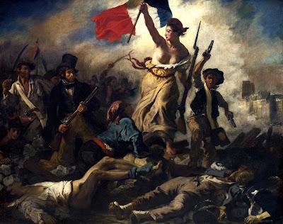 Eugène Delacroix. La Liberté guidant le peuple, 1830 - Um Asno