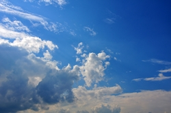 Der Himmel kam im kleinen Blauen...^^