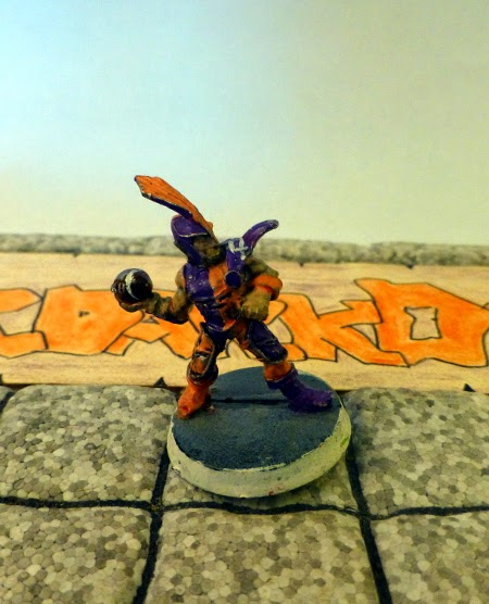 Bloodbowl 2nd ed Underdark Dynamos dark elf thrower