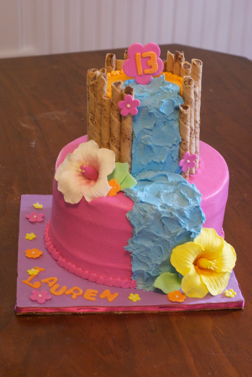 Country Cupboard Cakes Hawaiian Birthday Cake