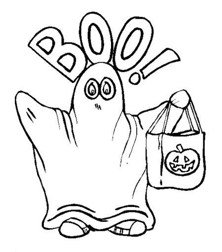 El rinc n de los peques dibujos para colorear de halloween - Dibujos infantiles halloween ...