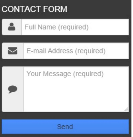Responsive Contact Form Blogger