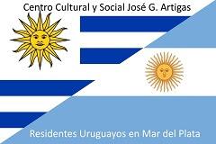 """Centro Cultural y Social """"José Gervasio Artigas"""" -  Residentes Uruguayos en Mar del Plata."""