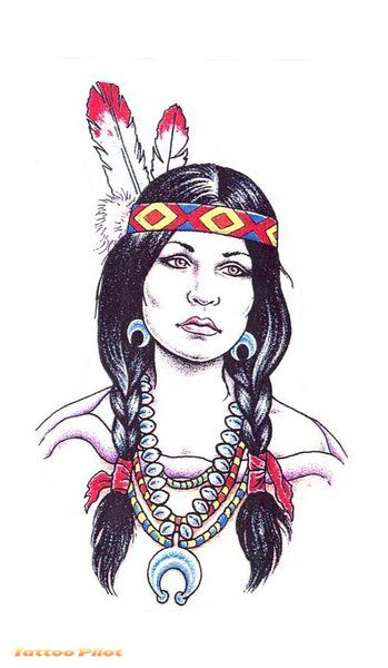 Native American Symbols Tattoo Designs