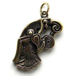 купить кулоны бронзовые подвески кельтика скандинавская символика