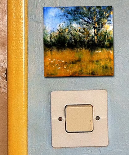 Photo of under the apple tree painting on wall £20