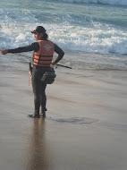 Spinning na praia