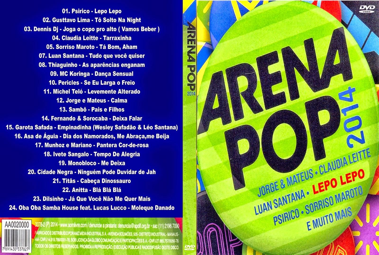 Arena Pop 2014 Arena Pop 2014 ARENA POP 2014 DVD