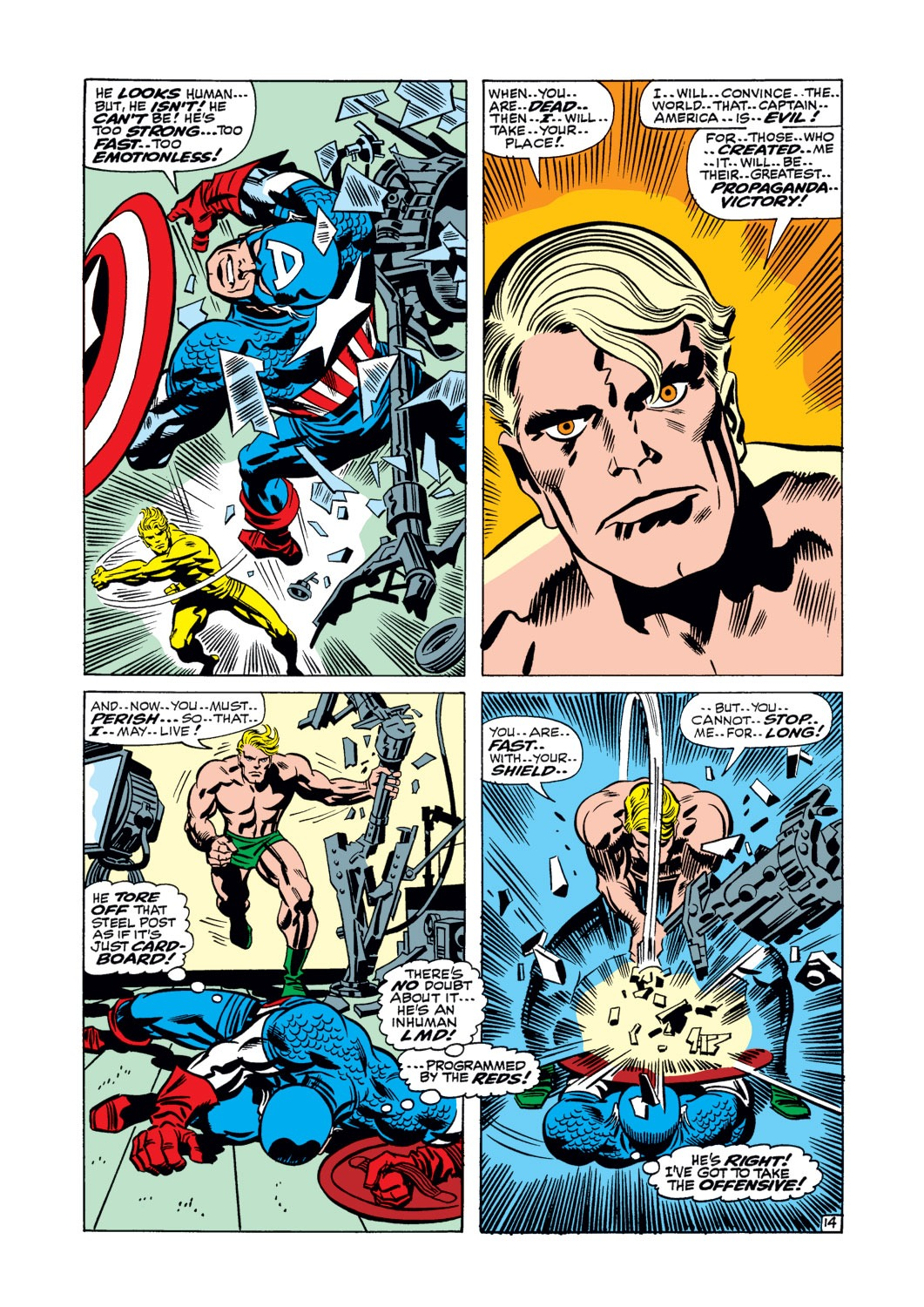 Captain America (1968) Issue #106 #20 - English 15