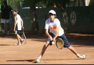 Muchas actividades en tenis