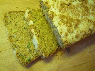 Sharp Cheddar Zucchini Bread