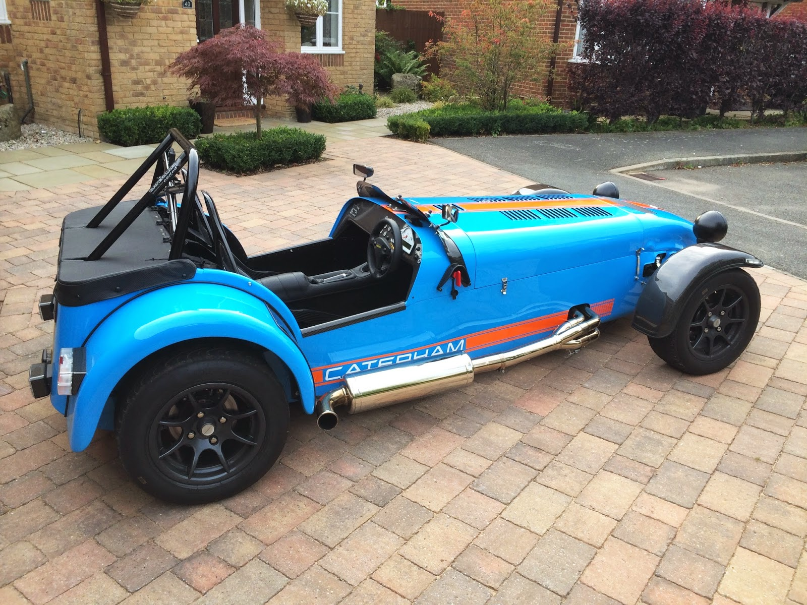 My Caterham R500 Duratec with Cat Bypass and Standard Silencer fitted.