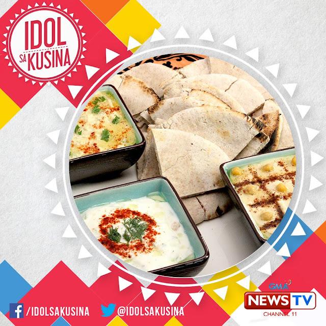 How to Make Moutabal, Hummus, Tatziki with Pita Bread ~ PSKMC