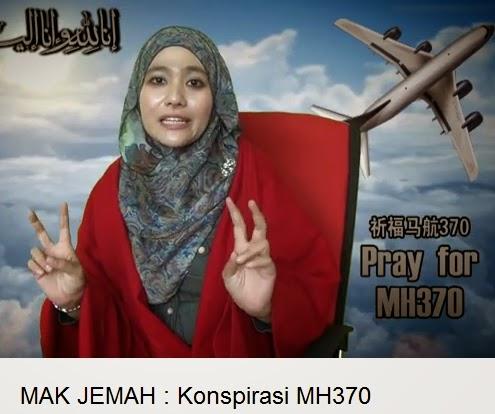 #MH370 Mak Jemah Sound Tepek Keyboard Warrior?! #makjemah