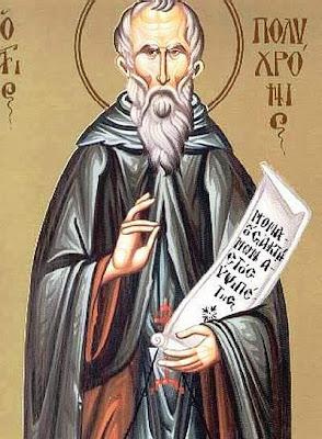ST POLYCHRONIUS, the Hieromartyr