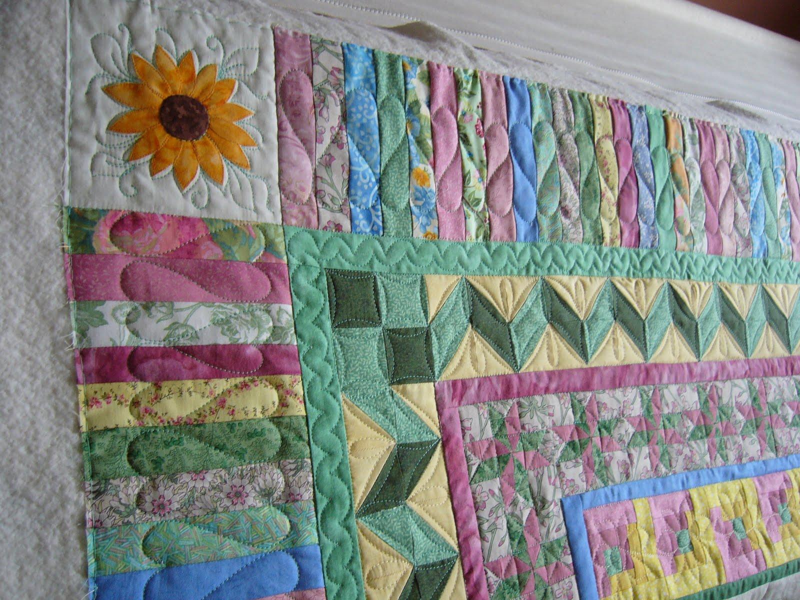 caledonia quilter: Baptist Fan, Multiple Borders : multiple quilt borders - Adamdwight.com